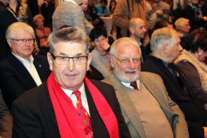 Adolf Wagenknecht und Alfred Wolgschaft von den SPD Senioren 60+