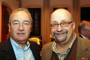 RA Alexander Nerlinger mit Torsten Falke, Geschäftsführer der IG BCE