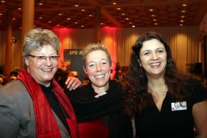 SPD Stadträtinnen Gabi Thoma, Jutta Fiener, Angie Steinecker