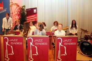 Musikalische Rahmenprogramm der Jazz Babies