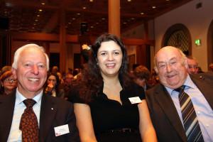 SPD Stadträte Willi Leichtle, Angie Steinecker, Dieter Benkhard
