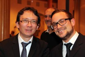 Dr. Christian Gerlinger (SPD-Jakobervorstadt) und Julian Enders (SPD-Theolett-/Antonsviertel)