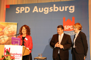Margarte Heinrich, Sigmar Gabirel, Ulrike Bahr