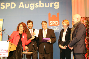 Margarete Heinrich, Stefan Kiefer, Sigmar Gabriel, Ulrike Bahr, Joachim Wolbergs