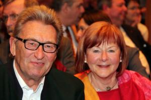 SPD-Altstadtrat Karl-Heinz Schneider mit Frau Brigitte