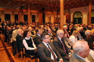 Über 500 Besucher besuchten den Neujahrsempfang