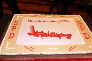 """Die """"traditionelle"""" SPD Neujahrs-Torte"""