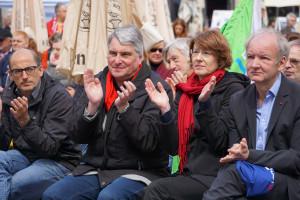 Beifall von Reiner Erben, Harald Güller, Ulrike Bahr und Roland Mair