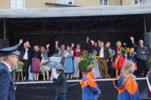 Begeisterung auf der SPD-besetzten Tribüne