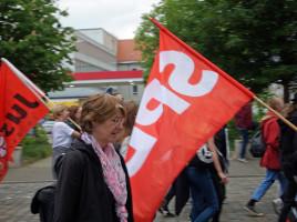 Impressionen von der Anti-PAG-Demo in Augsburg