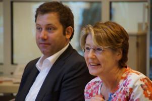Lars Klingbeil und Ulrike Bahr
