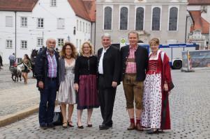 Landtags- und Bezirkskandidaten mit Ulrike Bahr