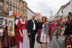 Ulrike Bahr, Harald Güller, Natascha Kohnen und Margarete Heinrich