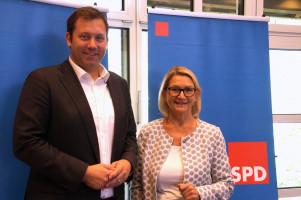 Lars Klingbeil und Josefine Steiger, IHK Schwaben