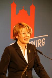 Ulrike Bahr, SPD-Vorsitzende Augsburg, MdB