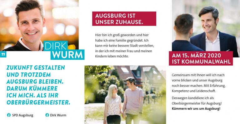DIRK WURM - Oberbürgermeister-Kandidat der SPD Augsburg -S.2